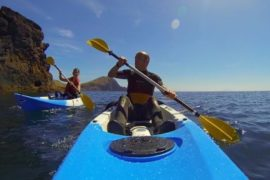 kayak and snorkeling madeira